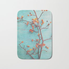 She Hung Her Dreams on Branches Bath Mat