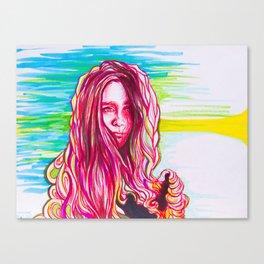 La Rusa Canvas Print