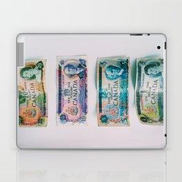 70's Canadian Bills Laptop & iPad Skin