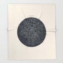 Map n XIV Throw Blanket