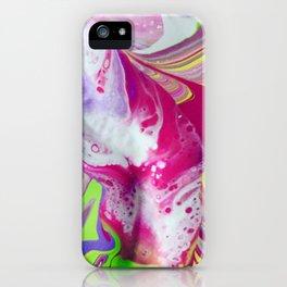 Let it flow iPhone Case