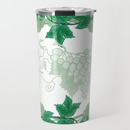 Abstract frame from grapevines Travel Mug