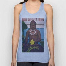 Vintage Kauai Buddha Unisex Tank Top