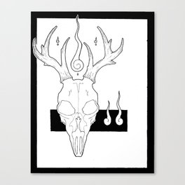 stag Canvas Print