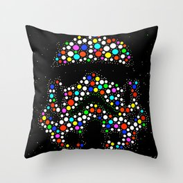 Soldier Wars Throw Pillow