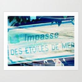 Etoiles De Mer Art Print