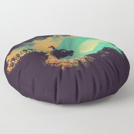 Leap of Faith Floor Pillow