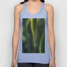 Green Palm Leaves Impression IV Unisex Tank Top