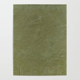 Italian Style Tuscan Olive Green Stucco - Luxury - Comforter - Bedding - Throw Pillows - Rugs Poster