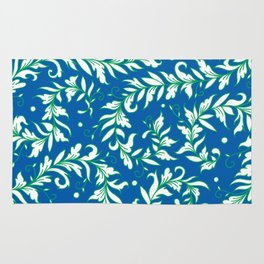 Lacy Leaves Rug