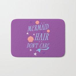 Mermaid Hair Don't Care Bath Mat