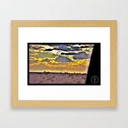 Desolación Natural Framed Art Print