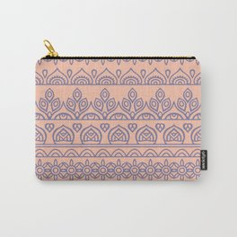 Stripes Mandala 11 Carry-All Pouch