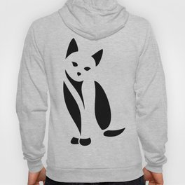 Minimal Kitty Hoody