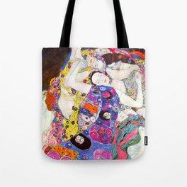 """Gustav Klimt """"Die Jungfrauen (The Virgins)"""" Tote Bag"""