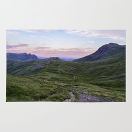 Hanging Knotts and the Langdale Pikes Rug