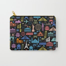 LET'S TRAVEL AROUND THE WORLD!!! Carry-All Pouch