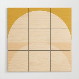Abstract Geometric 01 Wood Wall Art