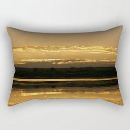 Golden Delight Rectangular Pillow