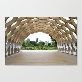 Lincoln Park Zoo Overlook Canvas Print