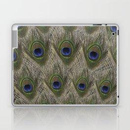 Peacock tail Laptop & iPad Skin