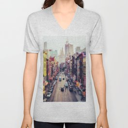New York City Unisex V-Neck