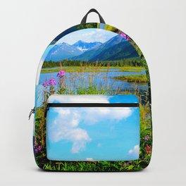 God's Country - Summer in Alaska Backpack