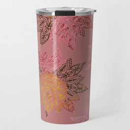 RAINBOW HENNA Travel Mug
