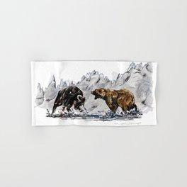 Bull and Bear Hand & Bath Towel