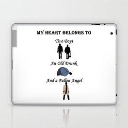 My Heart Belongs to Supernatural Laptop & iPad Skin