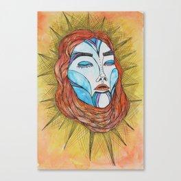 Empress of the Sun Canvas Print