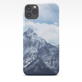 Snowy Mountain Peaks iPhone Case