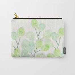 Jade Plant Watercolor Carry-All Pouch