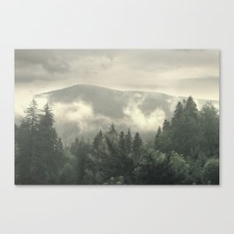 Carpathian Mountains - Transylvanian Alps Canvas Print