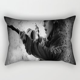 Hermione dark Rectangular Pillow