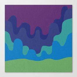 Six Shades of Desert Sunset Canvas Print