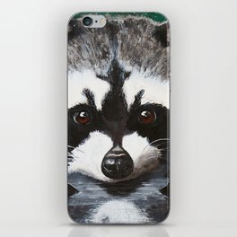 Raccoon - Charley - by LiliFlore iPhone Skin