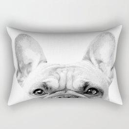 Bruno The French Bulldog Rectangular Pillow