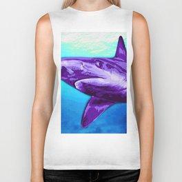 Shark Biker Tank