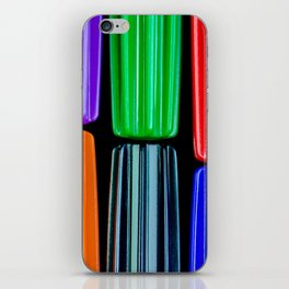 colored pencils iPhone Skin