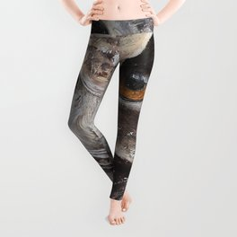 """The Owl - """"Watch-me!"""" - Animal - by LiliFlore Leggings"""
