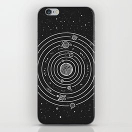 SOLAR SYSTEM iPhone Skin