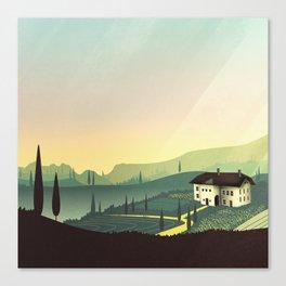 Tuscany Fairytale Canvas Print