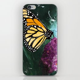 Butterfly - Soft Awakening - by LiliFlore iPhone Skin