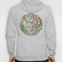 Gilt & Glory - Colorful Moroccan Mosaic Hoody
