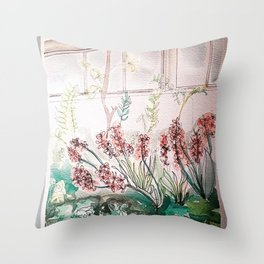 Allen Garden Conservatory Toronto Throw Pillow