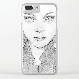 Nastya Clear iPhone Case