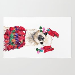 Coolest Llama Rug
