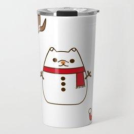 Cute Christmas Pupsheens Travel Mug