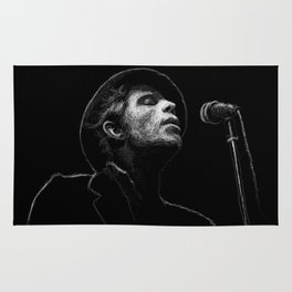 Tom Waits (scribble style) Rug